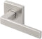 "Inox SE345L61-32 SE345 Tokyo Lever, Tubular Passage, 2-3/8"" Backset, Polished Stainless Steel"