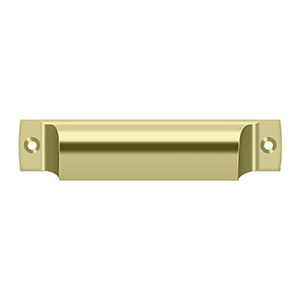 "Deltana SHP40 Rectangular Shell Pull 4"" - Stellar Hardware and Bath"