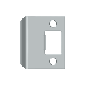 "Deltana SPE200 Extended Lip Strike Plate, 2"" Overall - Stellar Hardware and Bath"