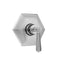 Hex Plate with Hex Lever Trim for Thermostatic Valves (J-TH34 & J-TH12) - Stellar Hardware and Bath