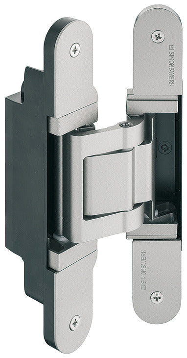 Concealed Hinge, TECTUS TE 541 3D FVZ concealed, 3D adjustable, size 185 mm - Stellar Hardware and Bath