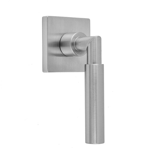 Contempo Slim Lever with Square Escutcheon Trim for Exacto Volume Controls and Diverters (J-VC34 / J-VC12 / J-20682 / J-20686 / J-20688 / J-20687 / J-20689) - Stellar Hardware and Bath