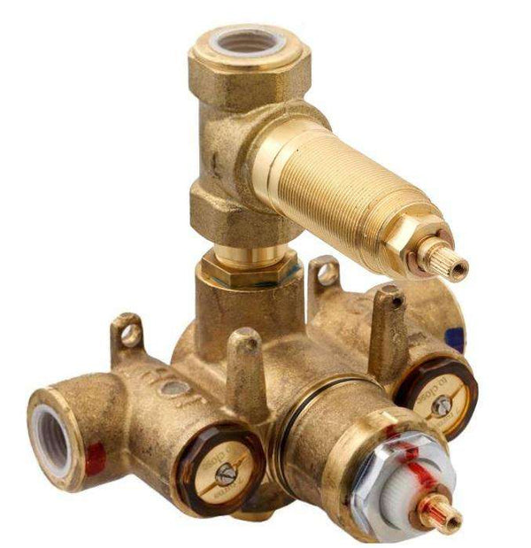 "Newport Brass 1-744 Luxtherm 1/2"" Thermostatic Rough-In (3 Port) - Stellar Hardware and Bath"
