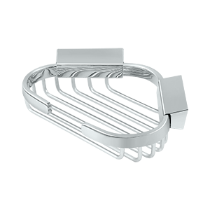 "Deltana WBC6050 Wire Basket, 6"" x 5"" Triangular Corner - Stellar Hardware and Bath"