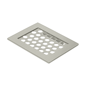 "Deltana WBHDSD55 Bathroom Basket HD Soap Dish 4-3/8""x 5-1/2"" - Stellar Hardware and Bath"