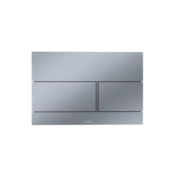 TOTO Wall Square Push Plate - Stain Less Steel - Stellar Hardware and Bath