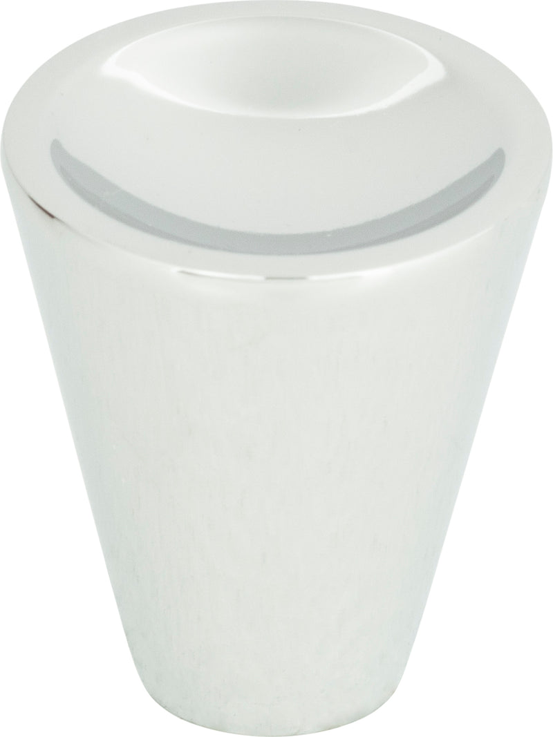 Atlas Dap Cone Knob 1 Inch - Stellar Hardware and Bath