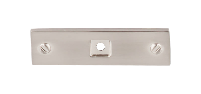 Top Knobs Channing Backplate 3 Inch - Stellar Hardware and Bath