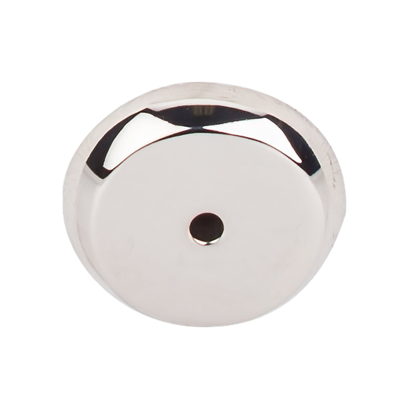 Top Knobs Aspen II Round Backplate 1 1/4 Inch - Stellar Hardware and Bath