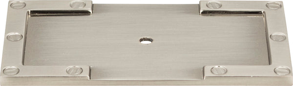 Atlas Campaign L-Bracket Backplate 3 11/16 Inch - Stellar Hardware and Bath