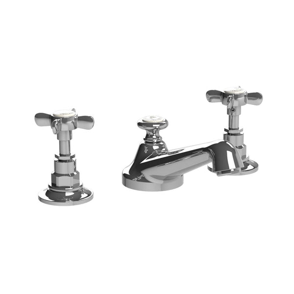 Lefroy Brooks C1-1049 Classic 3-Hole Basin Mixer With Pop Up Waste