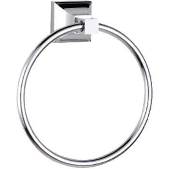 Cool Lines C5060  Trans-Modern Towel Ring - Stellar Hardware and Bath