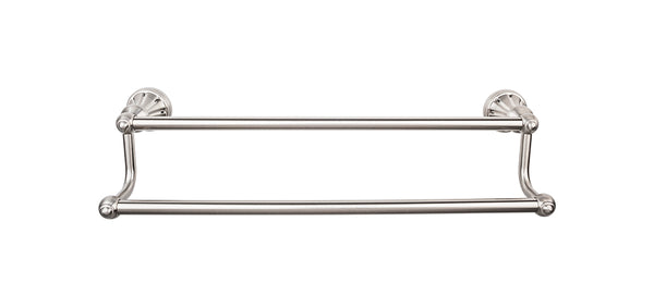 Top Knobs Hudson Bath Towel Bar 18 Inch Double - Stellar Hardware and Bath