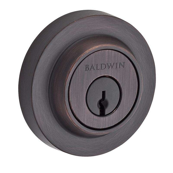 Baldwin Contemporary Round Deadbolt