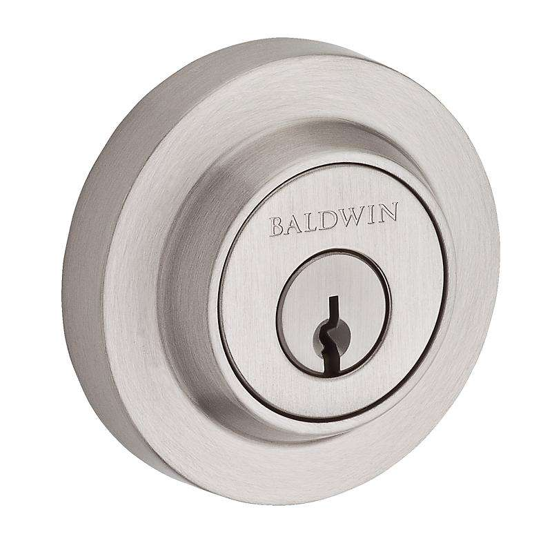 Baldwin Contemporary Round Deadbolt - Stellar Hardware and Bath