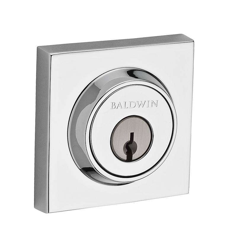 Baldwin Contemporary Square Deadbolt - Stellar Hardware and Bath