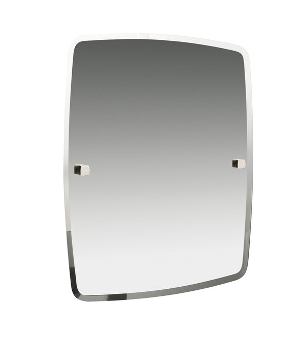 "Valsan Denver Chrome Mirror, 16 1/2"" x 19 1/2"""