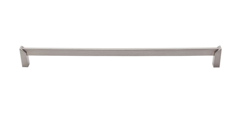 Top Knobs Meadows Edge Square Pull 12 Inch - Stellar Hardware and Bath