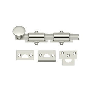"Deltana 6SB 6"" Surface Bolt, HD - Stellar Hardware and Bath"
