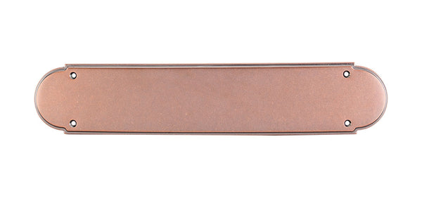 Top Knobs Plain Push Plate 15 Inch - Stellar Hardware and Bath