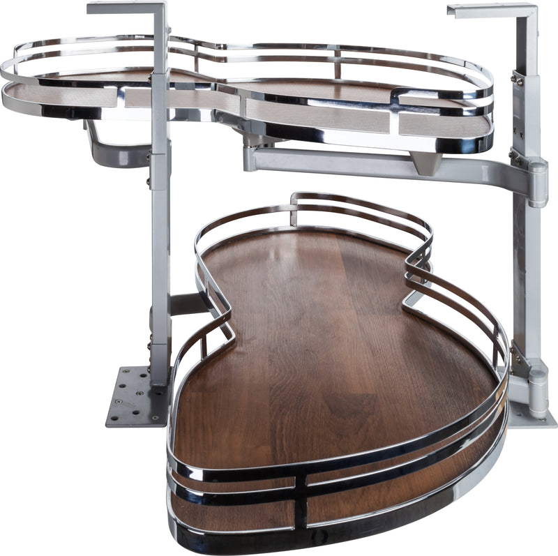 "18"" Blind Corner Swing Out, Right Handed Unit - Stellar Hardware and Bath"
