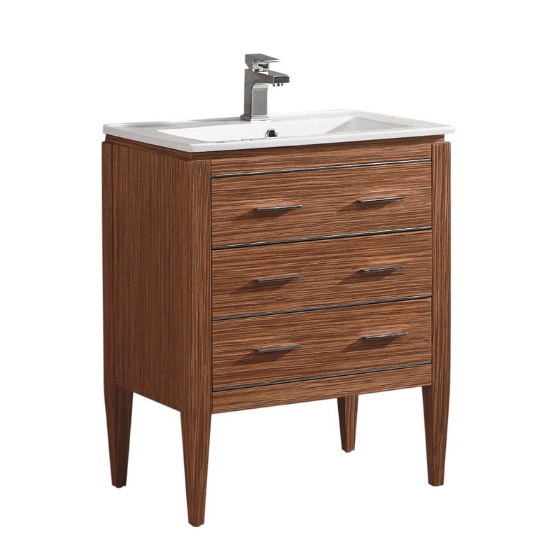 Fine Fixture Ironwood Vanity - Stellar Hardware and Bath