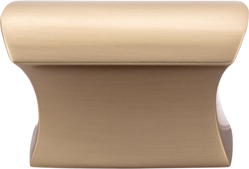 Top Knobs Glacier Knob 1 1/2 Inch - Stellar Hardware and Bath