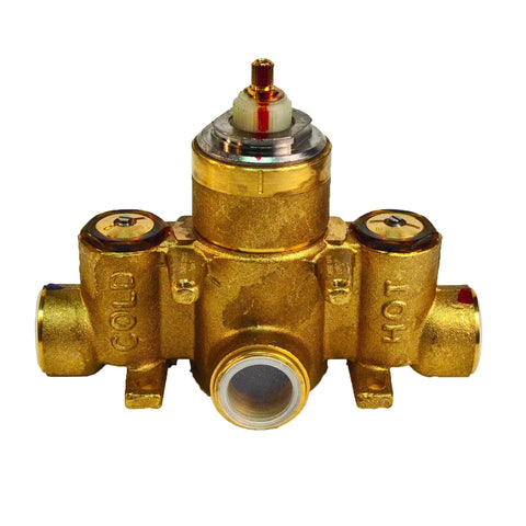1-540 Tub and Shower Thermostatic Rough In Valve with 3/4 Inch NPT Outlet