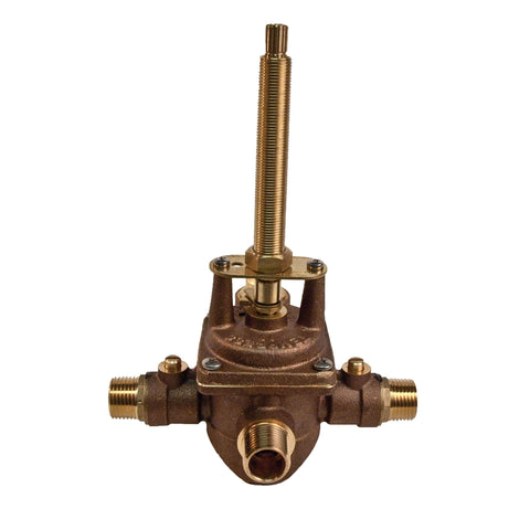 1-595 Pressure Balanced Tub and Shower Rough In Valve with 1/2 Inch NPT Outlet
