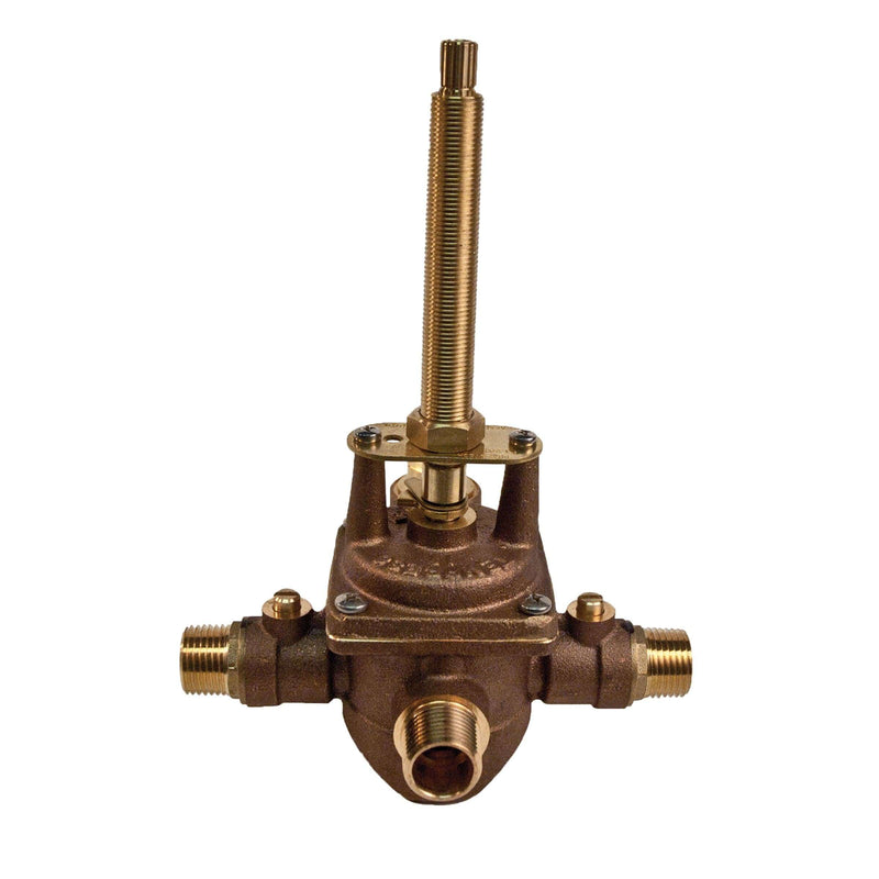 Newport Brass 1-595 Pressure Balanced Tub and Shower Rough In Valve with 1/2 Inch NPT Outlet - Stellar Hardware and Bath