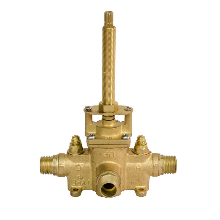 "Newport Brass 1-532 -Valve rough with 1/2"" NPT outlets."