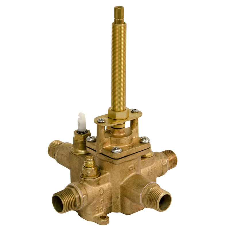 Newport Brass 1-685 Pressure Balanced Tub and Shower Rough In Valve with 1/2 Inch NPT Outlet - Stellar Hardware and Bath
