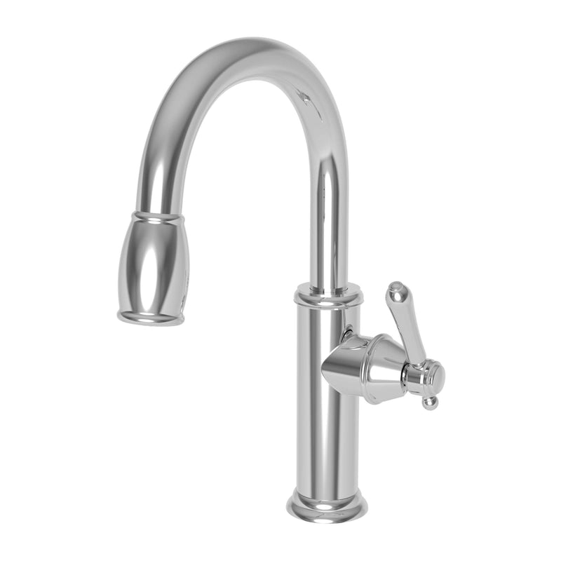 Newport Brass 1030-5223 Chesterfield Pull-Down Prep/Bar Faucet - Stellar Hardware and Bath