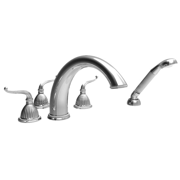 Newport Brass 3-1097 Alexandria Roman Tub Faucet with Handshower