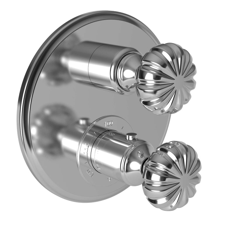 Newport Brass 3-873TR Alexandria 1/2'' Thermostatic Trim Plate w/ Handles - Stellar Hardware and Bath