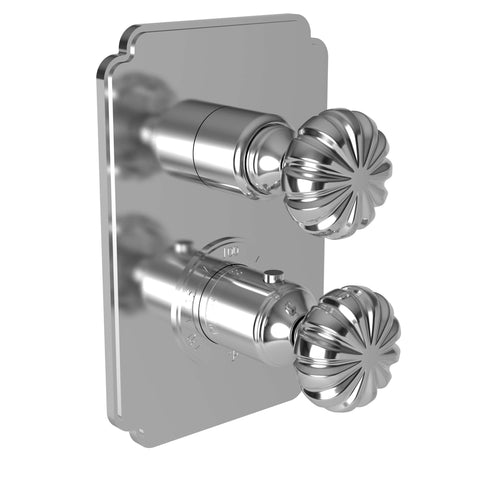 3-873TS Alexandria 1/2'' Thermostatic Trim Plate w/ Handles