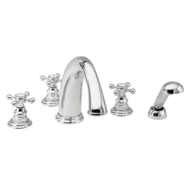 Newport Brass 3-897 Alveston Roman Tub Faucet with Handshower - Stellar Hardware and Bath