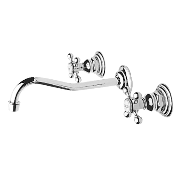 Newport Brass 3-944 Chesterfield  Wall Mount Lavatory Faucet - Stellar Hardware and Bath