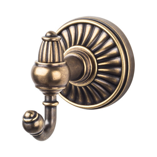 Top Knobs Tuscany Bath Double Hook - Stellar Hardware and Bath