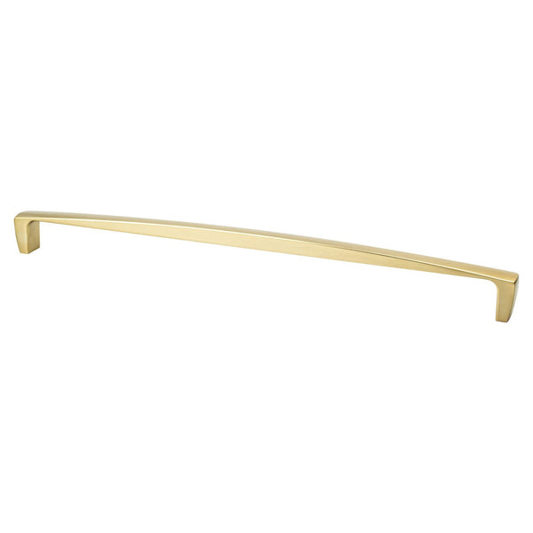 Berenson Aspire 18in. Appliance Pull Modern Brushed Gold 2134-1MDB-P - Stellar Hardware and Bath
