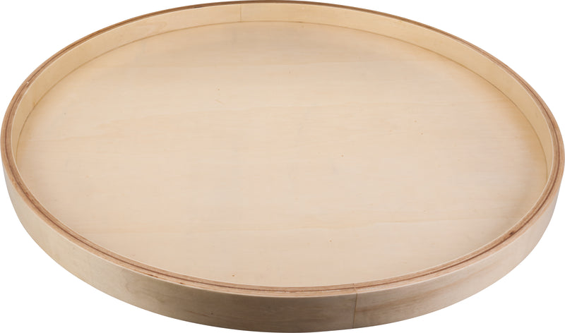 "20"" Round Banded Lazy Susan with Swivel Preinstalled - Stellar Hardware and Bath"