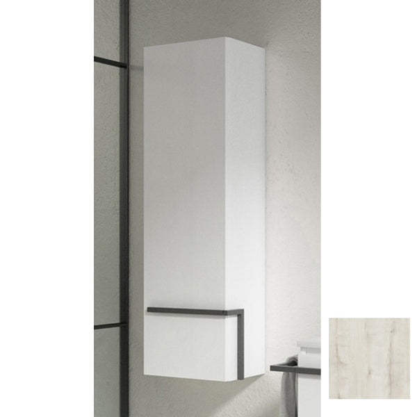 Lucena Bath Abedul Scala tall Unit With Left Side Door - Stellar Hardware and Bath