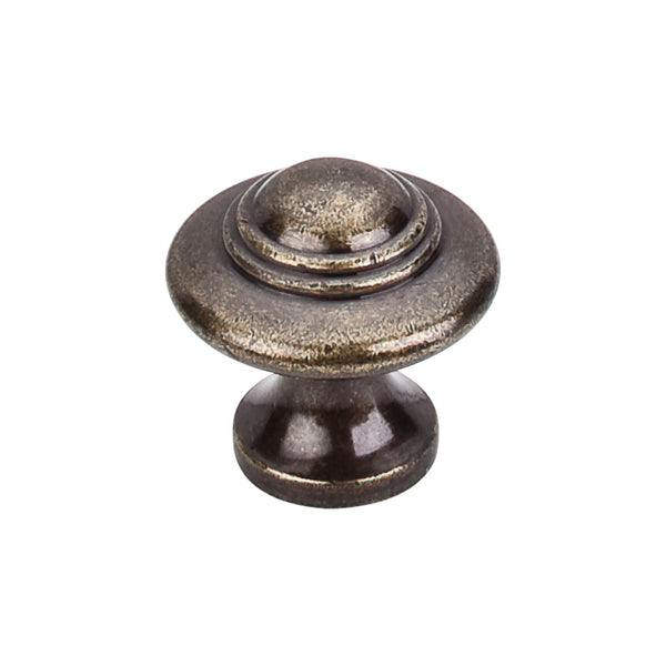 Top Knobs Ascot Knob 1 1/4 Inch - Stellar Hardware and Bath