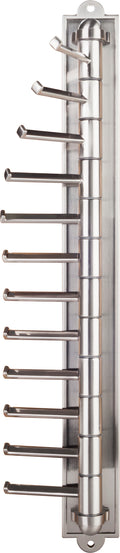 Screw Mounted Cascading Tie Rack - Stellar Hardware and Bath