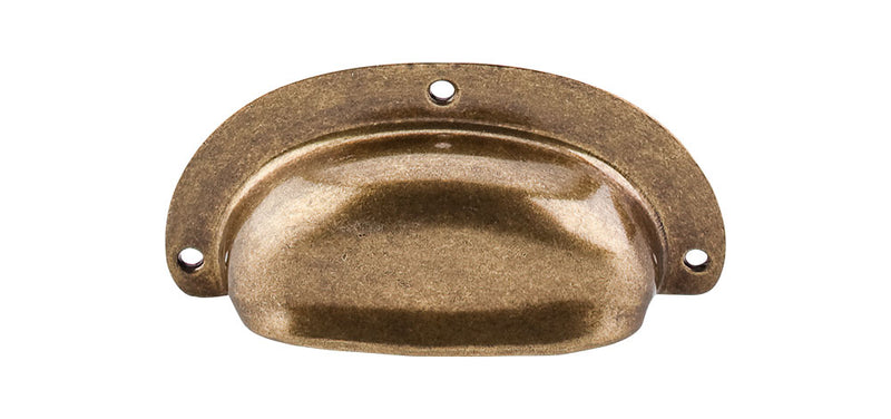 Top Knobs Mayfair Cup Pull 3 3/4 Inch - Stellar Hardware and Bath