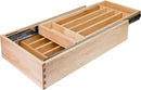"18"" Double Cutlery Drawer - Stellar Hardware and Bath"