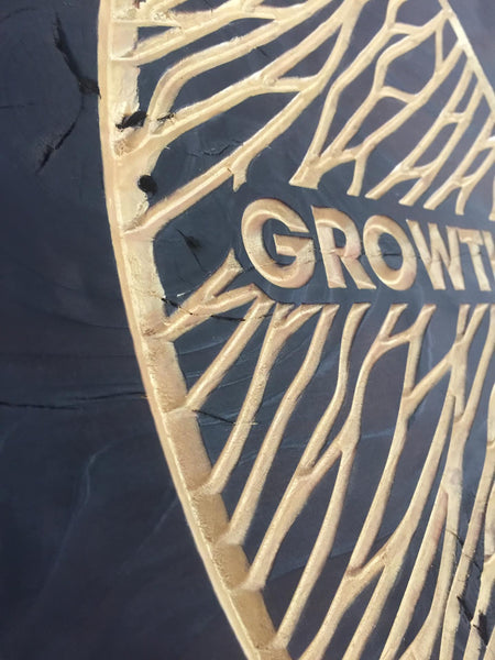 Growth Venn wood carved Art