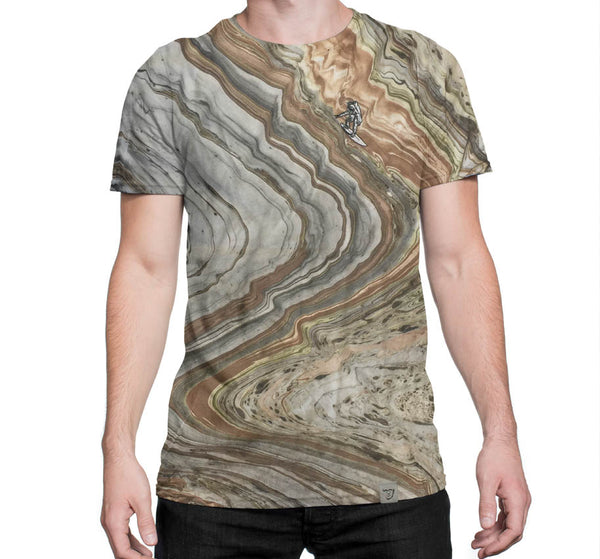 Marble Dye Astro Surfer T