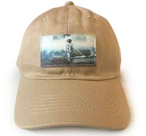 Moon surfer Dad Hat
