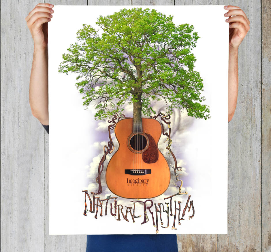 Natural Rythm Art Print